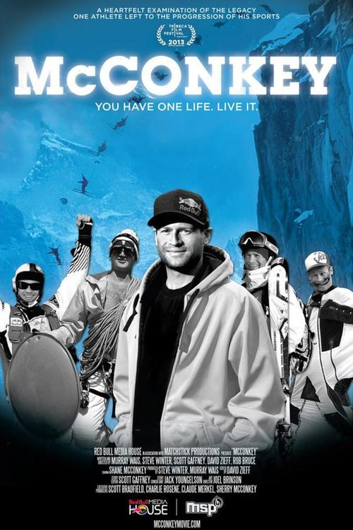 "Poster for the movie ""McConkey"""