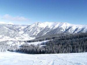 Looking east from Copper Mtn. on back side.